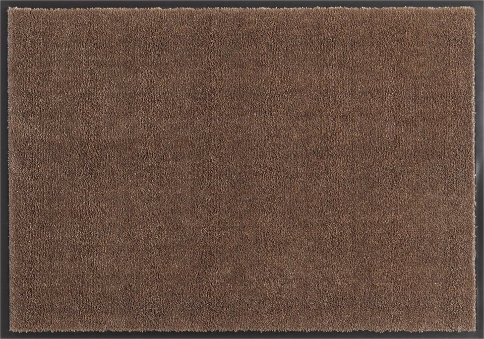 Fußmatte »Deko Soft«, Hanse Home, rechteckig, Höhe 7 mm, saugfähig, waschbar in braun