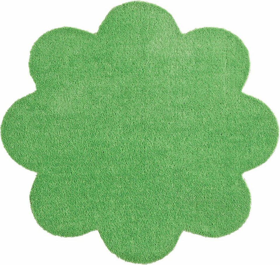 Fußmatte, Blume, Hanse Home, »Deko Soft«, waschbar, getuftet in grün