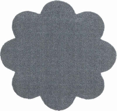 Fußmatte »Deko Soft«, HANSE Home, blumenförmig, Höhe 7 mm, Schmutzfangmatte, saugfähig, waschbar