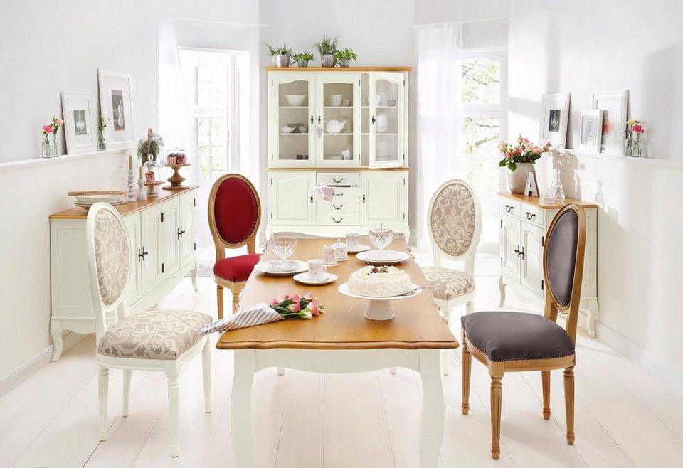Home affaire Esstisch »Harmony«, in 2 Größen in creme/honigfarben
