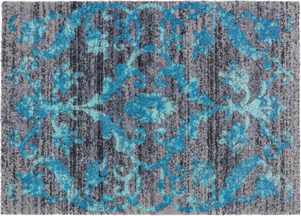 Fußmatte, Schöner Wohnen, »Brooklyn Vintage« in blau