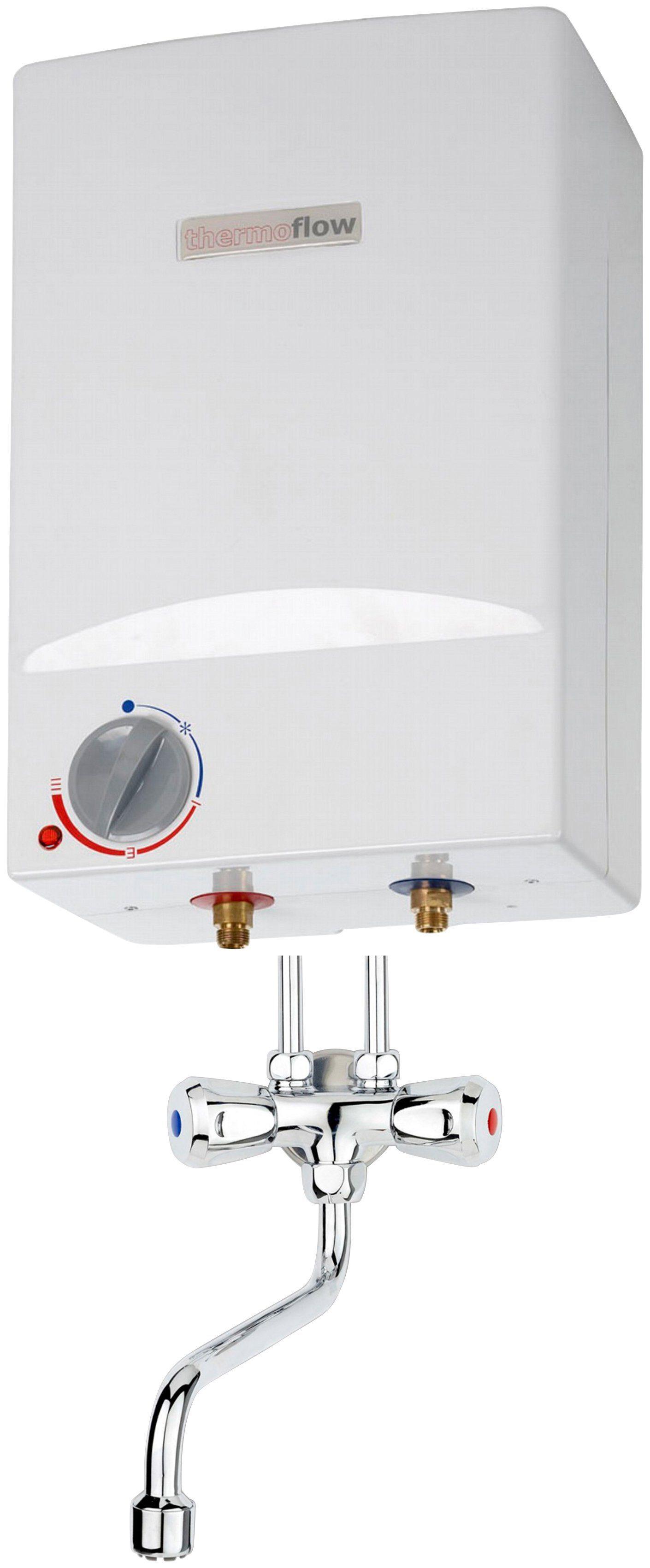 RESPEKTA Set: Übertischspeicher »Thermoflow OT5«, mit Armatur AMIX10