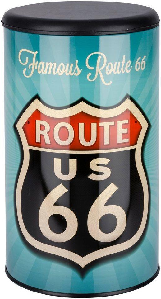 Badhocker »Route 66« in bunt