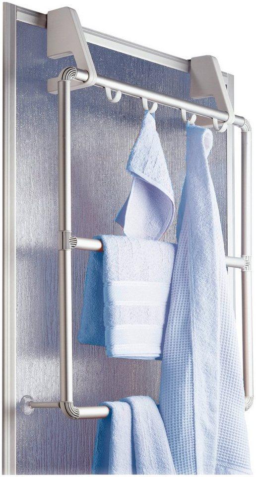 Handtuchhalter »Compact, 3 Querstangen« in silberfarben
