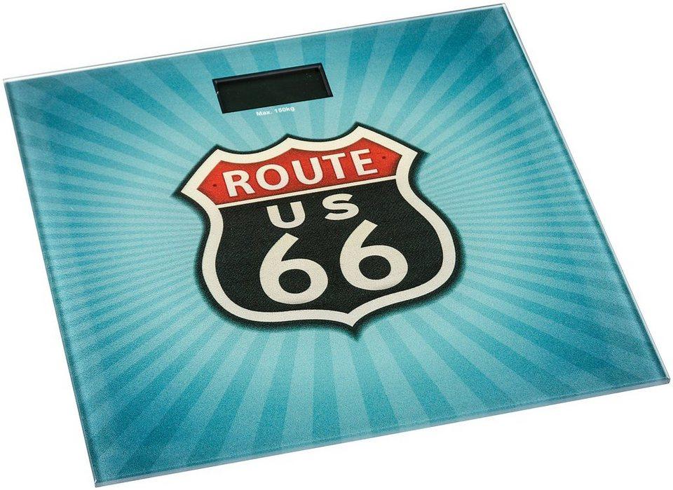 Personenwaage »Route 66« in bunt