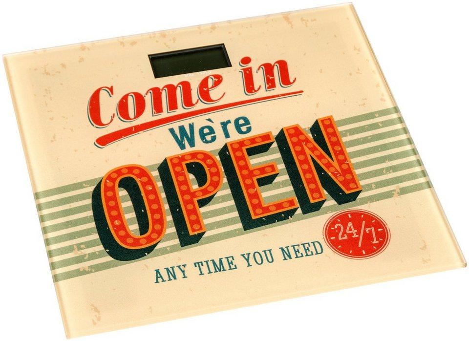 Personenwaage »Open« in bunt
