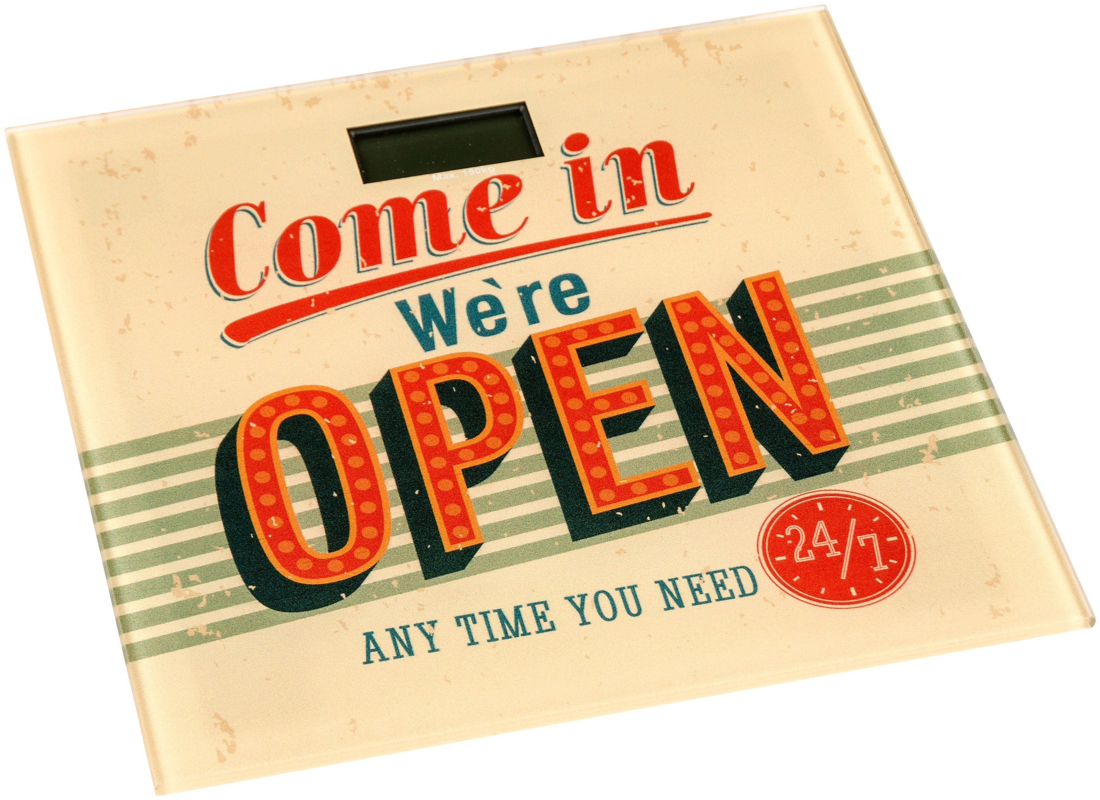 Personenwaage »Open«
