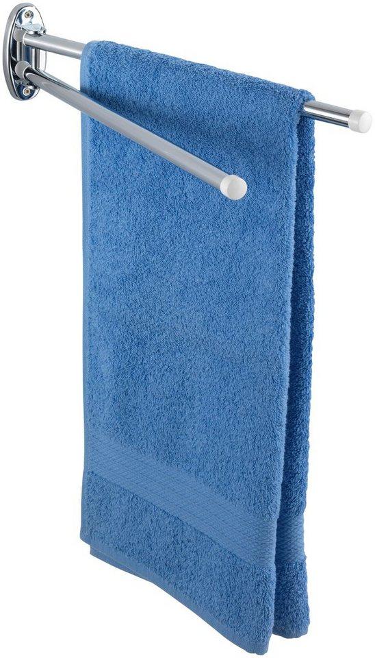 Handtuchhalter »Basic«, mit 2 Armen in silber glänzend