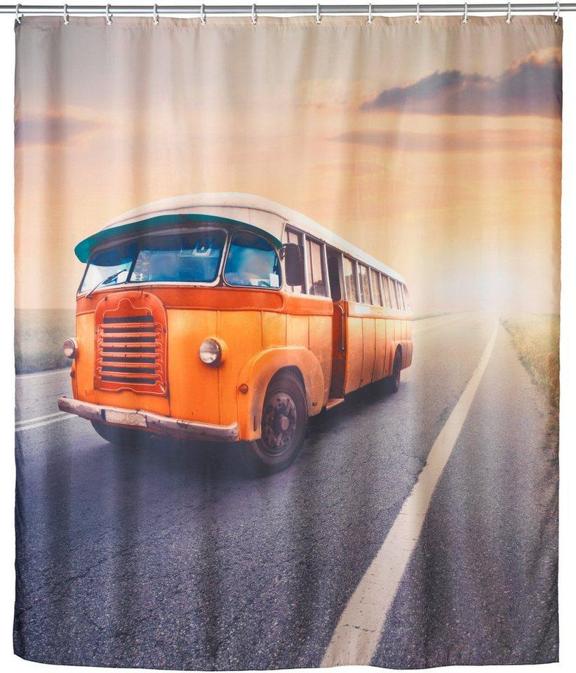 Duschvorhang »Bus« in bunt