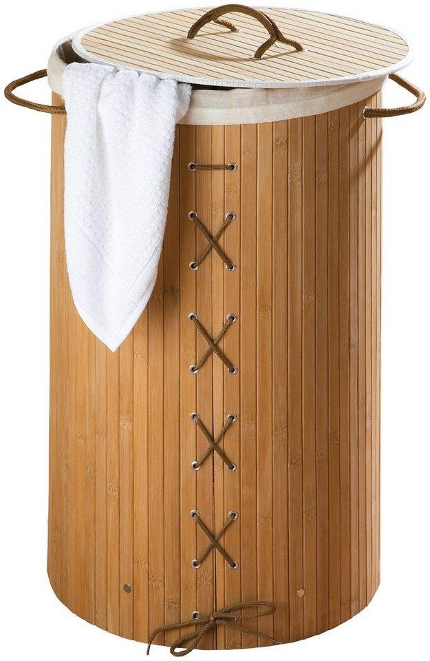 Wäschesammler »Bamboo« in braun