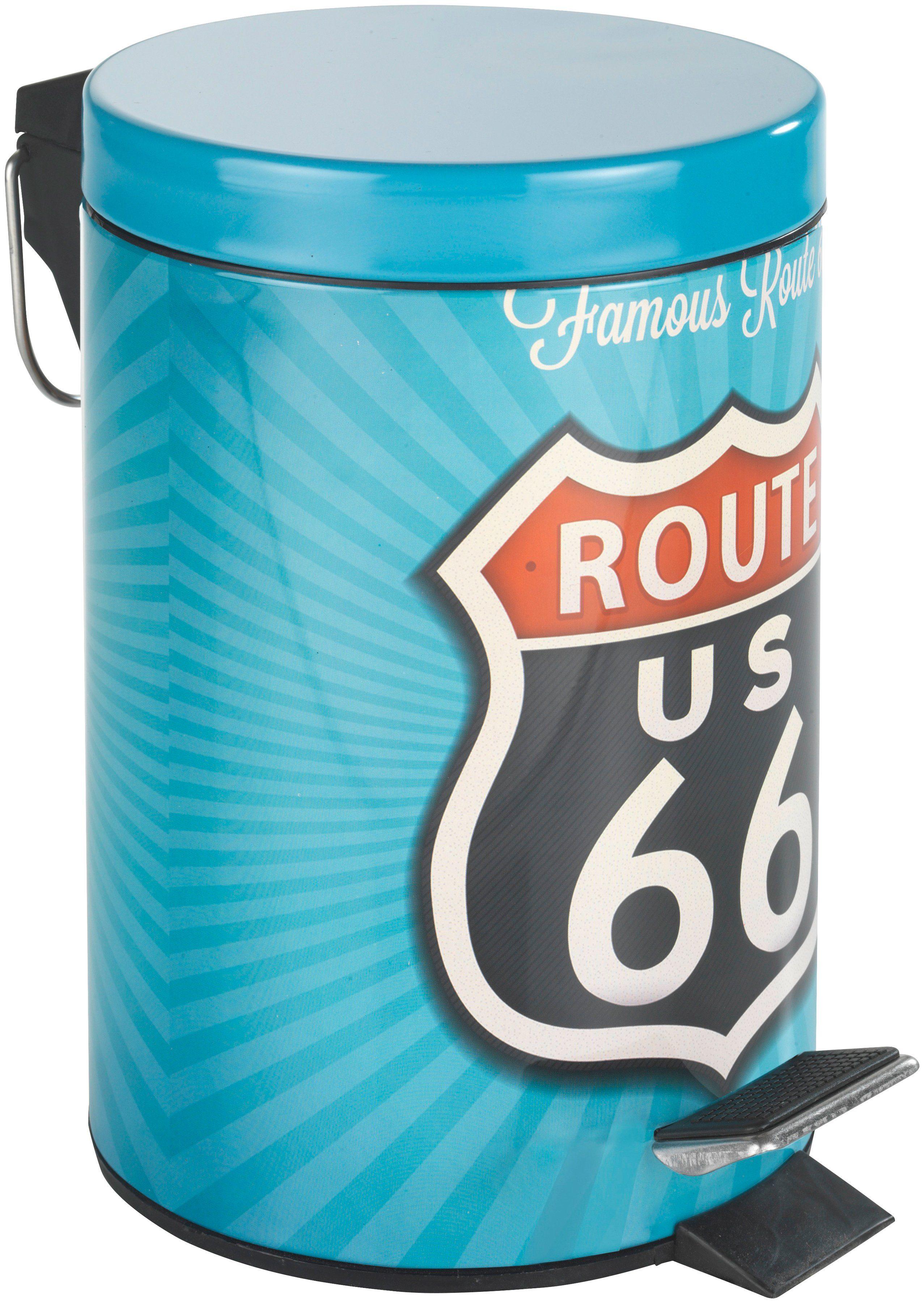 Kosmetik-Abfalleimer »Route 66«