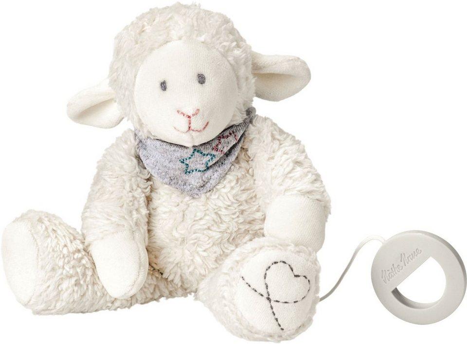 Käthe Kruse Stofftier mit Musik, »Lamm Mojo Spieluhr« in weiß