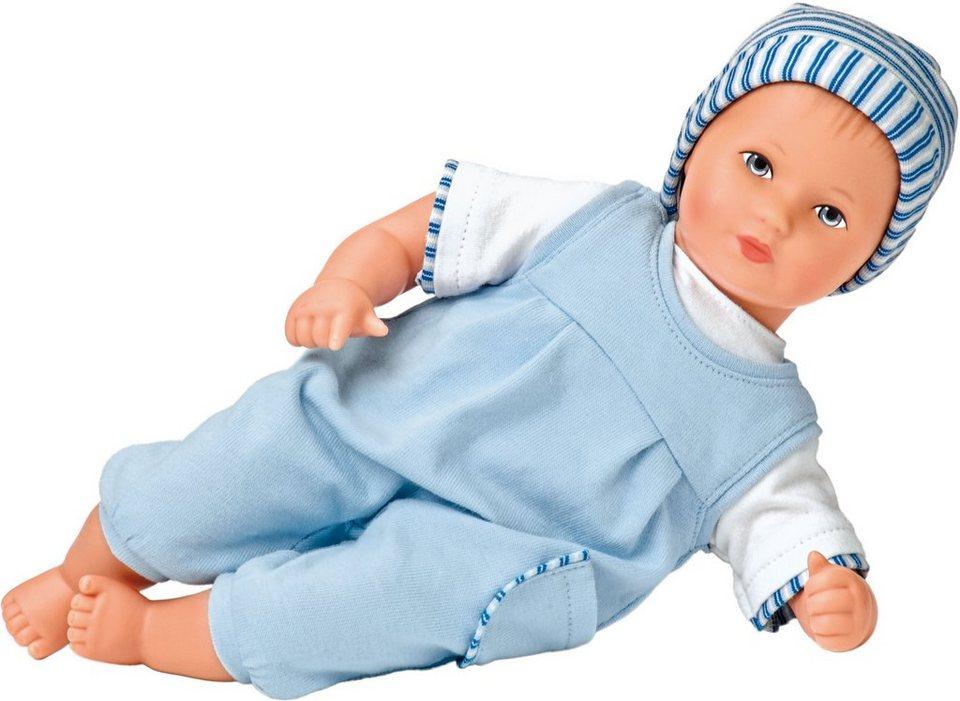 Käthe Kruse Puppe, »Mini Bambina Linus« in blau