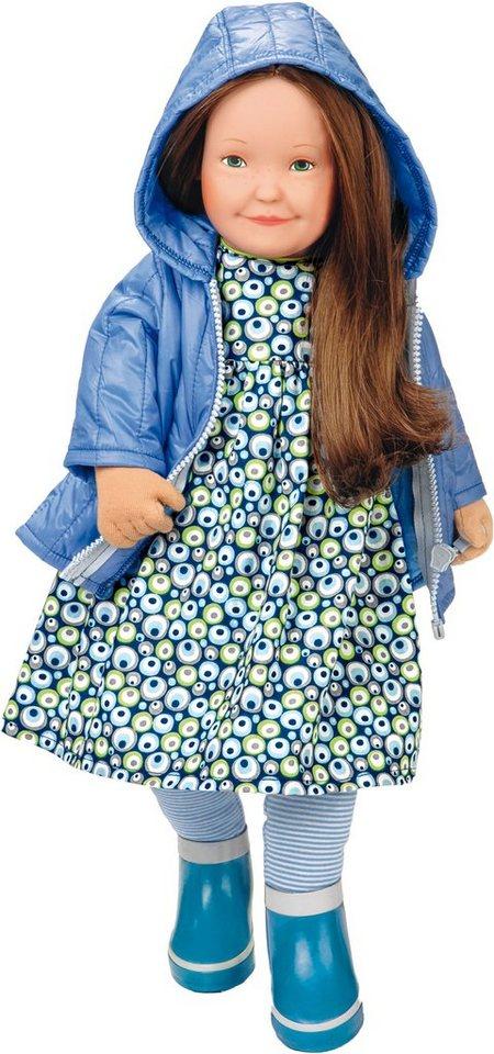 Käthe Kruse Puppe, »Lolle Frida« in blau