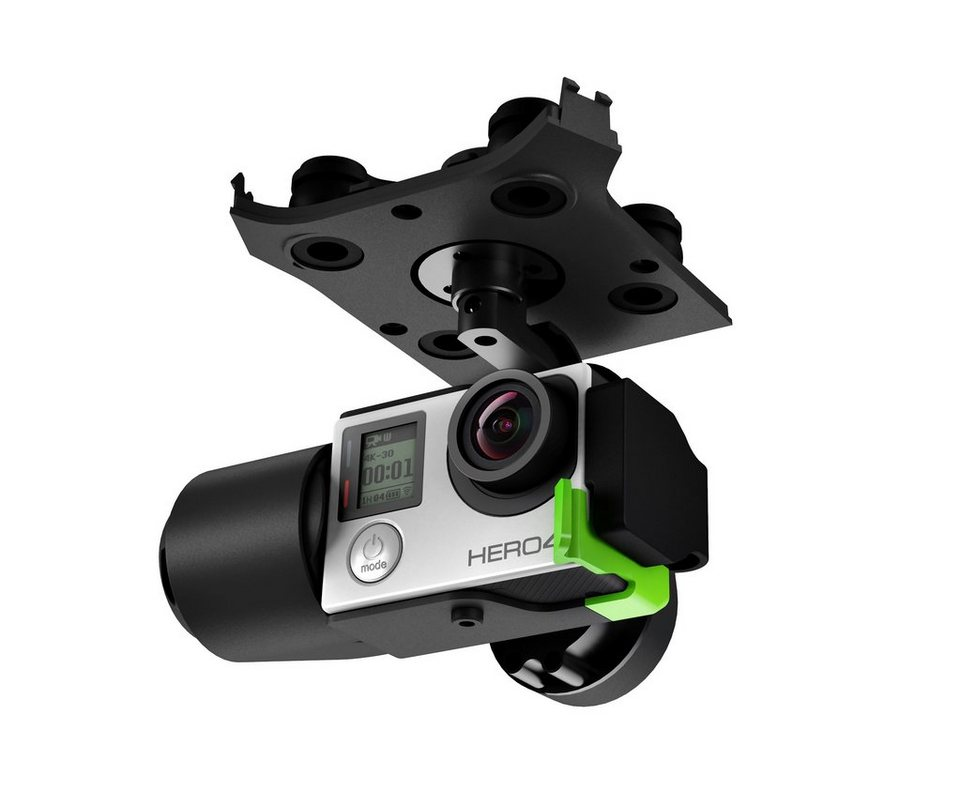 3D Robotics GoPro 3-Achsen-Gimbal »Solo Drone« in black
