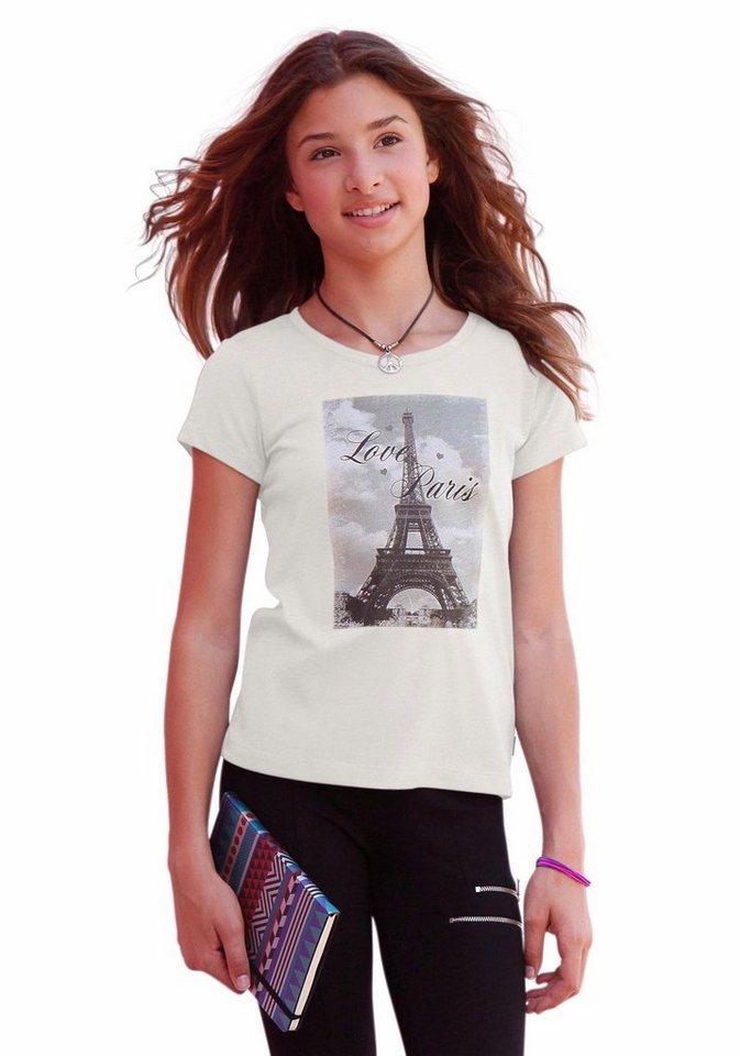 Arizona T-Shirt mit Fotodruck in natur