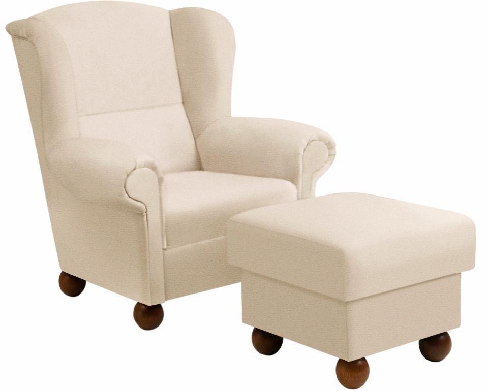 max winzer ohrensessel malm inklusive hocker otto. Black Bedroom Furniture Sets. Home Design Ideas