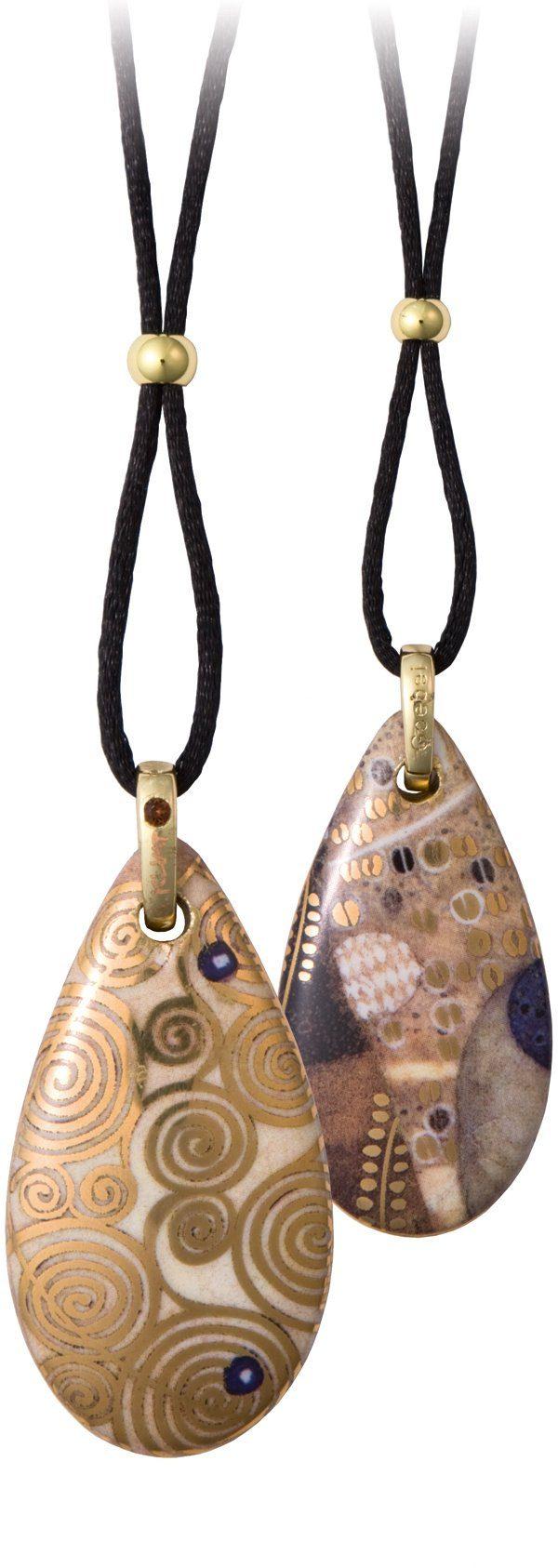 Goebel Kette mit Anhänger mit Swarovski® Kristall, »Wasserschlangen, 66999071«