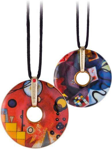 Goebel Kette mit Anhänger »Schweres Rot, Artis Orbis Wassily Kandinsky, 66989641« mit Swarovski® Kristall