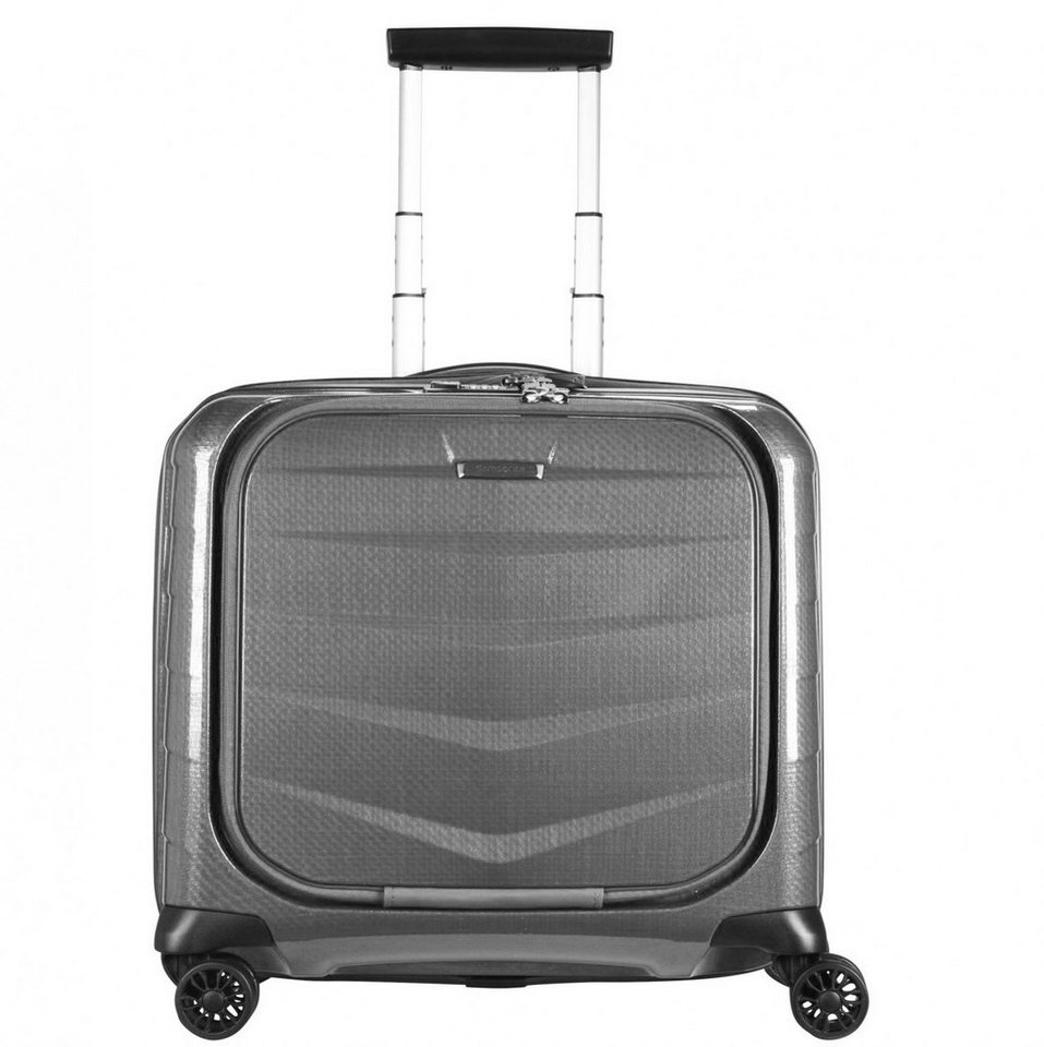 Samsonite Lite-Biz 4-Rollen Business-Trolley Spinner 44 cm Laptopfach in eclipse grey