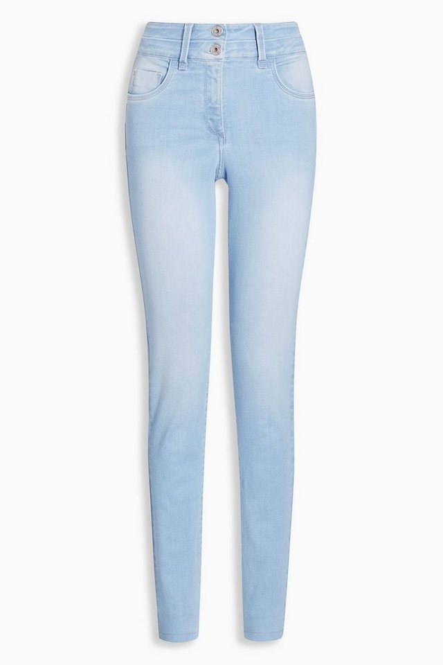 Next Lift, Slim And Shape Skinny-Jeans in Bleach Blue