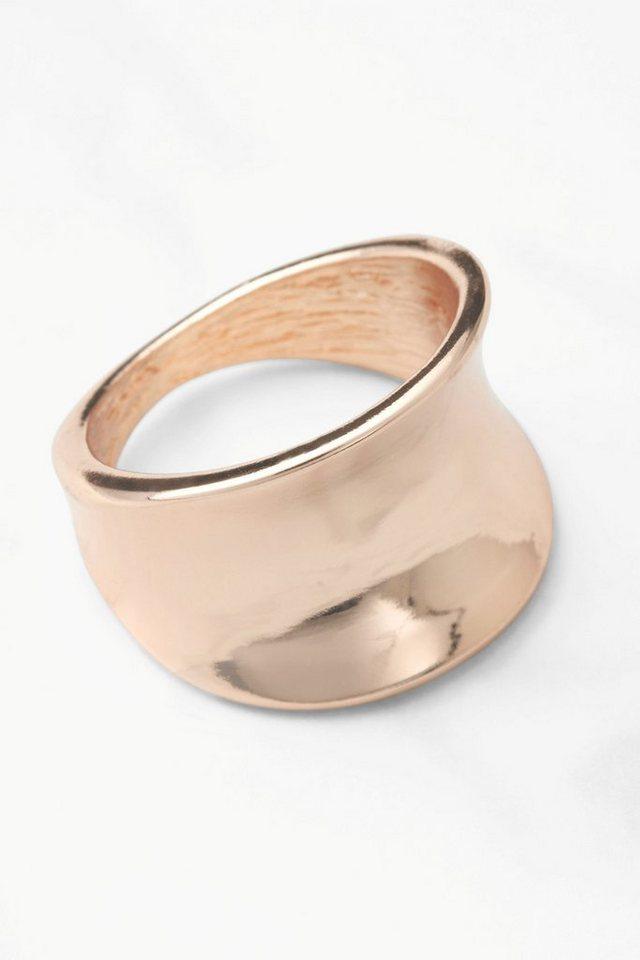 Next Organisch geformter Ring in Roségoldfraben
