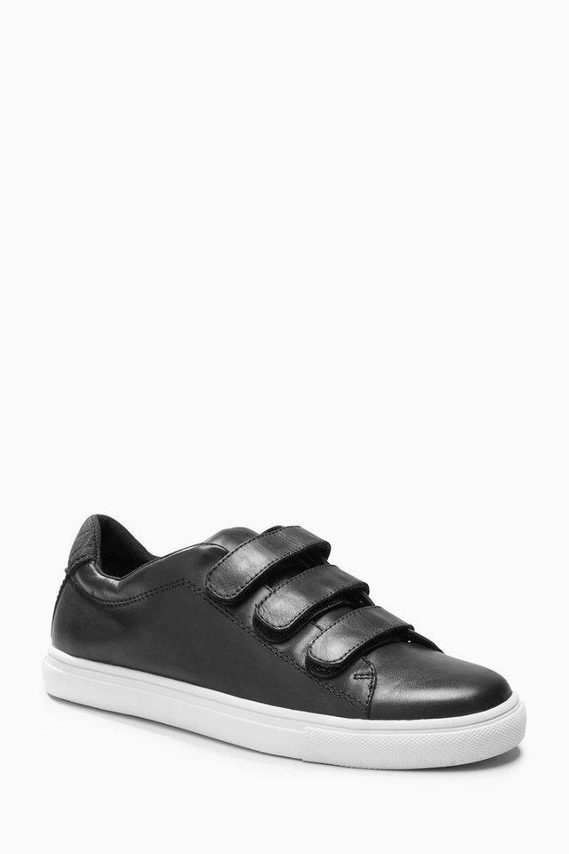 Next Sneaker aus Leder in Schwarz
