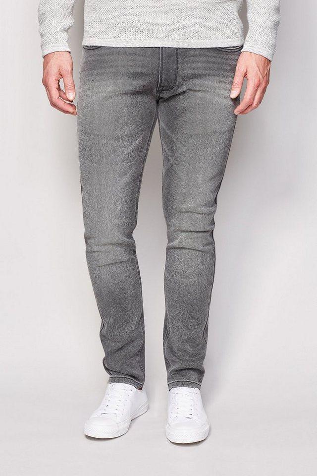 Next Skinny-Fit Dark Grey Stretch-Jeans in Dunkelgrau Skinny-Fit