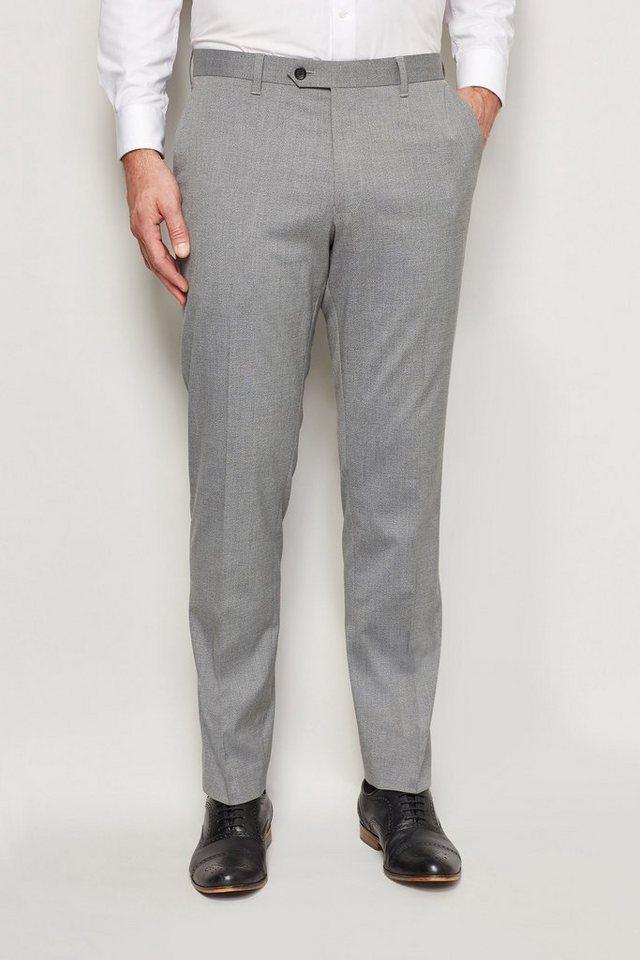 Next Modische Hose in Light Grey Slim Fit