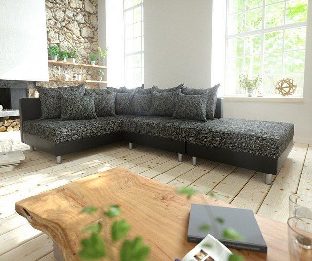 Sofas - DELIFE Eckcouch Clovis modular Ecksofa Modulsofa Design Sofa  - Onlineshop OTTO