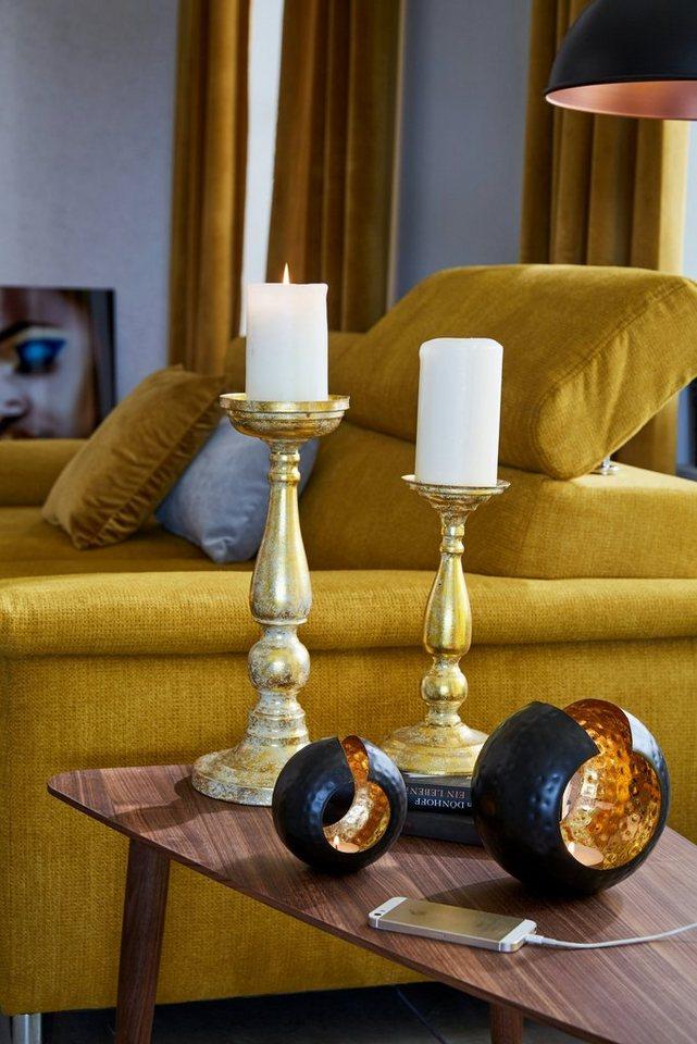 Home affaire Kerzenständer in gold