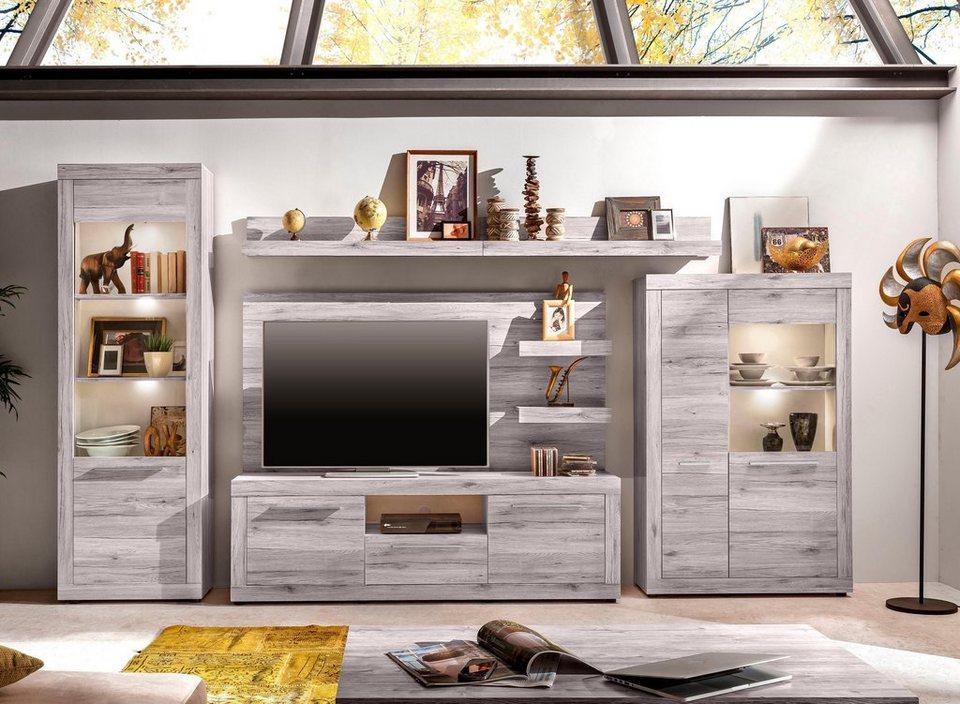wohnwand passat 6 tlg online kaufen otto. Black Bedroom Furniture Sets. Home Design Ideas