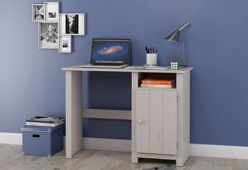 Schreibtisch, Home affaire in weiß
