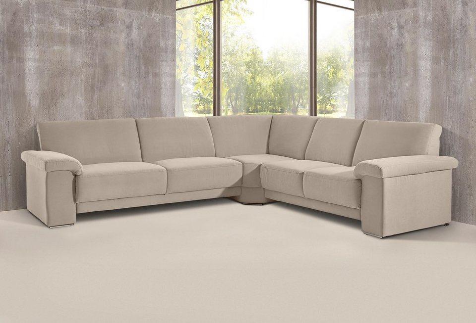 polsterecke mit federkern online kaufen otto. Black Bedroom Furniture Sets. Home Design Ideas