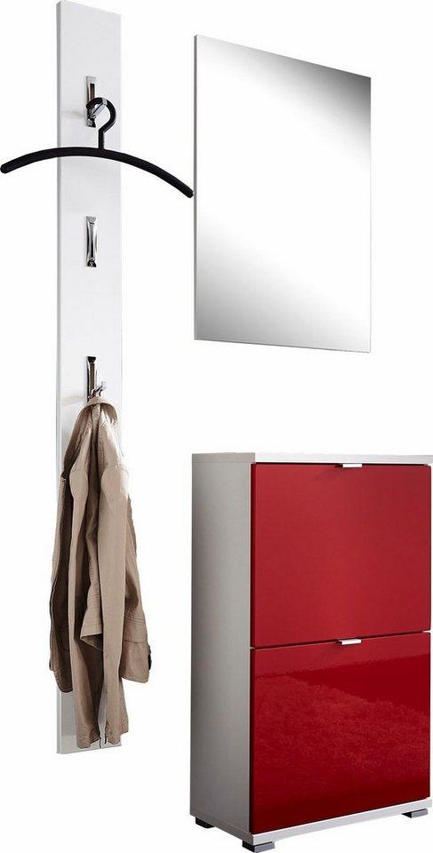 germania garderoben set colorado 5 tlg kaufen otto. Black Bedroom Furniture Sets. Home Design Ideas