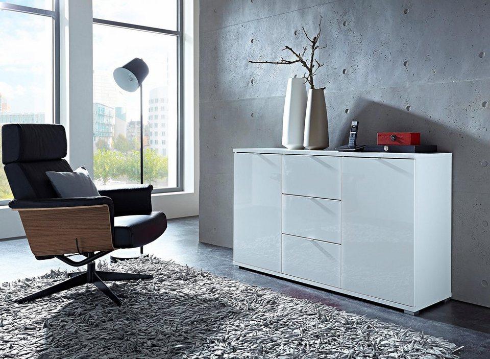 Germania »Colorado« Sideboard, Breite 144 cm in weiß/weiß