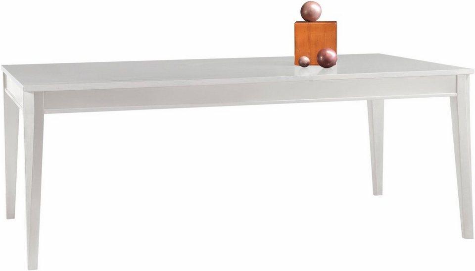 selva esstisch mit auszugsfunktion eliza in edler vintage optik online kaufen otto. Black Bedroom Furniture Sets. Home Design Ideas