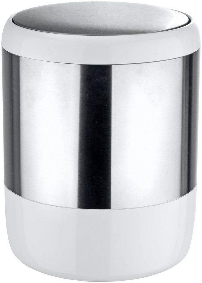 Kosmetik-Abfalleimer »Loft« in weiß