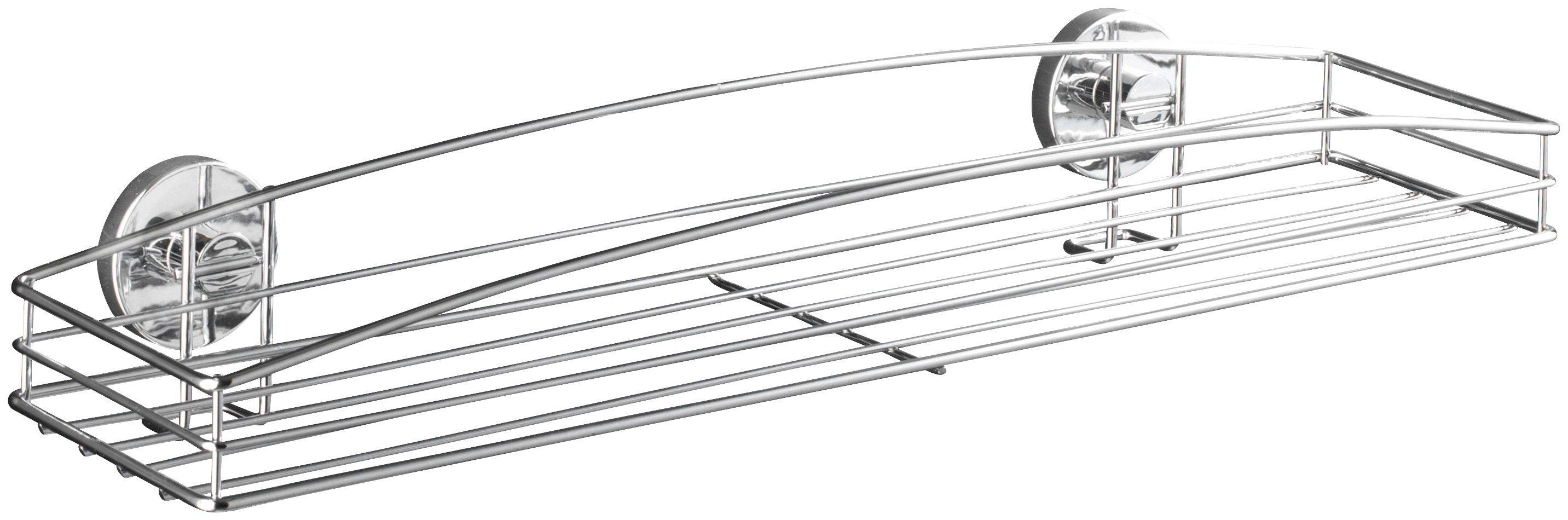 WENKO Duschablage »Vacuum-Loc Milazzo«, Befestigen ohne bohren