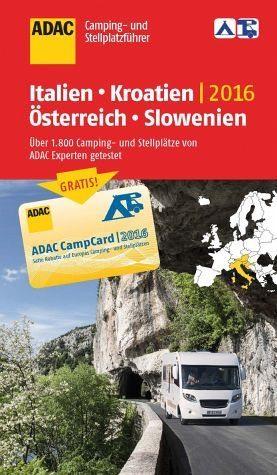 Broschiertes Buch »ADAC Camping- und Stellplatzführer 2016:...«