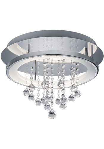 TRIO Leuchten LED Deckenleuchte DORIAN silber | 04017807299014