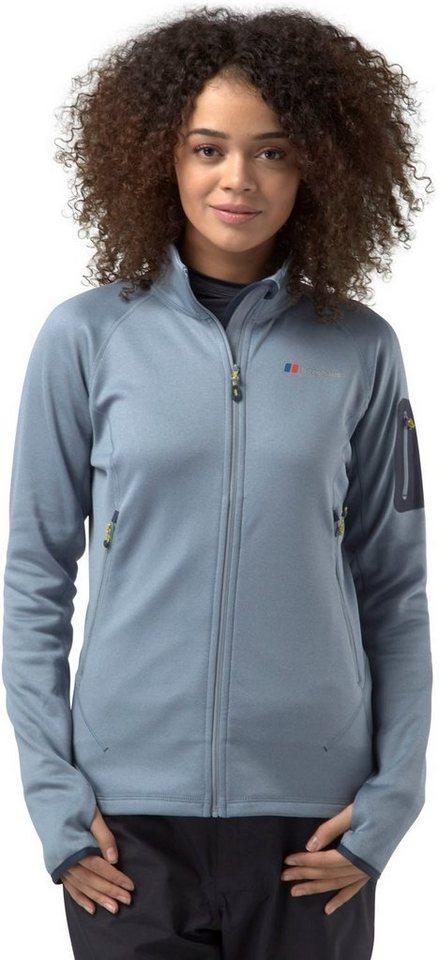 Berghaus Outdoorjacke »Pravitale 2.0 Fleece Jacket Women« in grau