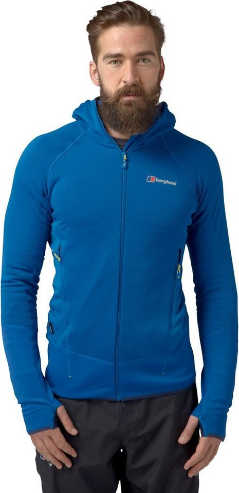 Berghaus Outdoorjacke »Extrem 7000 Hoody Fleece Jacket Men« in blau