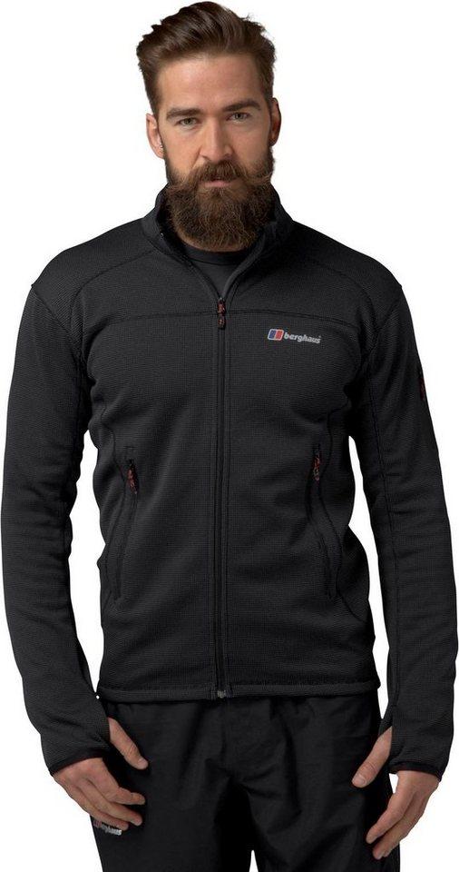Berghaus Outdoorjacke »Pravitale 2.0 Fleece Jacket Men« in schwarz