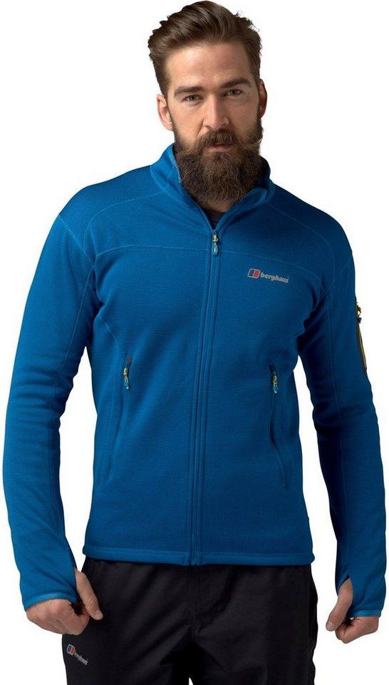 Berghaus Outdoorjacke »Pravitale 2.0 Fleece Jacket Men« in blau