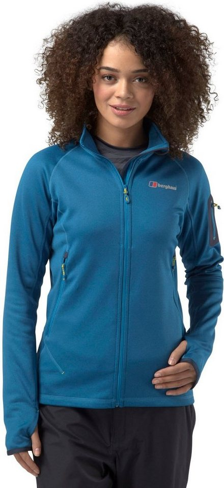 Berghaus Outdoorjacke »Pravitale 2.0 Fleece Jacket Women« in blau