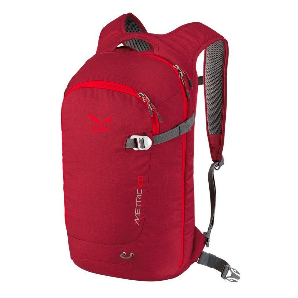 Salewa Sport- und Freizeittasche »Metric 20 Backpack« in rot