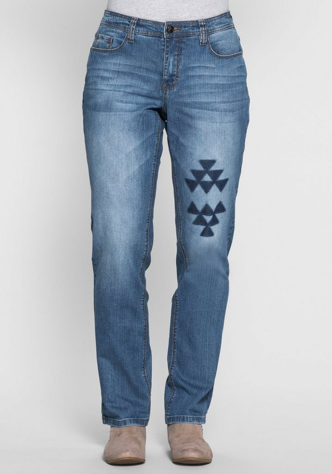 Joe Browns Gerade Five-Pocket-Jeans in light blue Denim