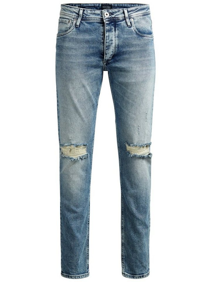 Jack & Jones Glenn Original JOS 166 Slim Fit Jeans in Blue Denim