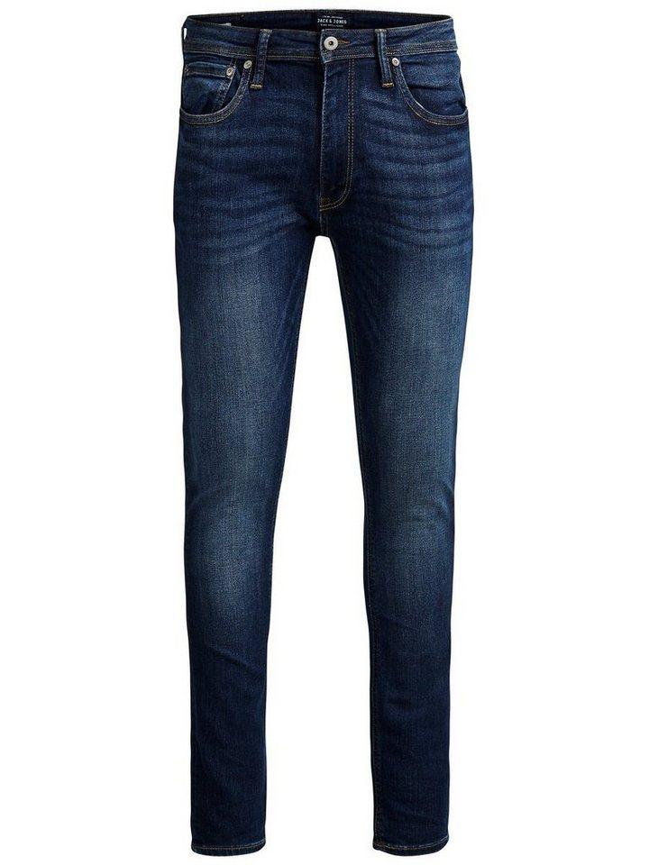 Jack & Jones Liam Original Am 014 Skinny Fit Jeans in Blue Denim